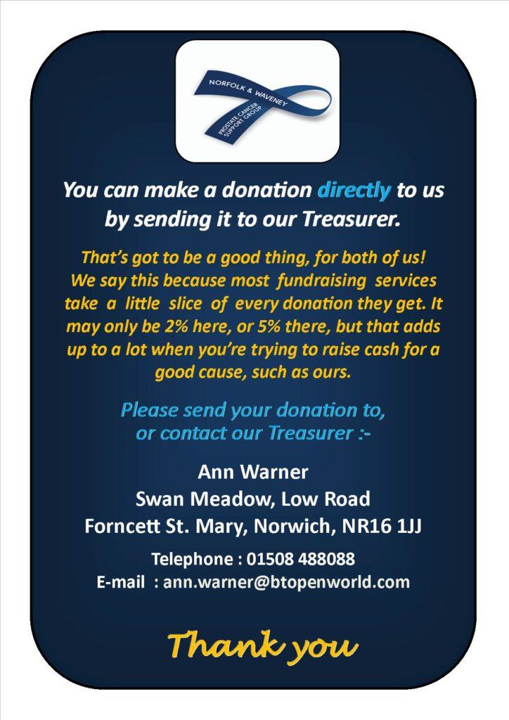 Donate Info